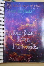 Your face, I will seek